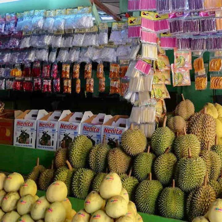 Local fruits available for sale at the Davao City Downtown Market