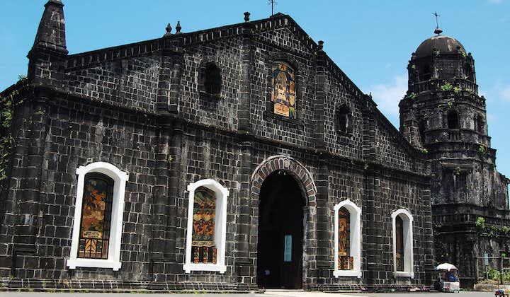 Beautiful facade of Tabaco Church in Tabaco City, Albay