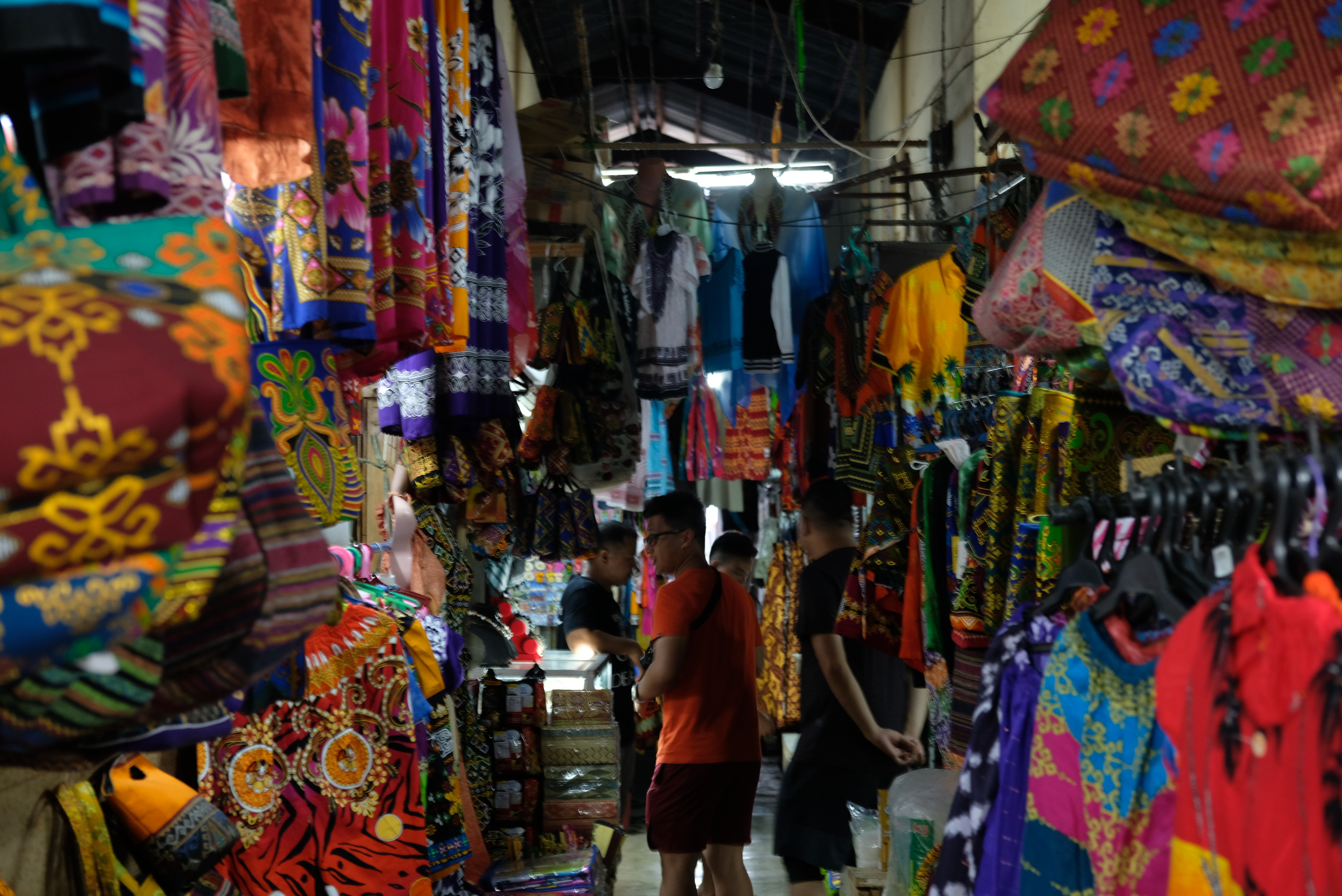 Colorful products that you can find at Canelar Barter Trade