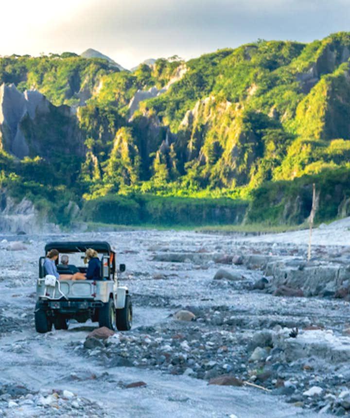 4x4 ATV Ride in Mt. Pinatubo