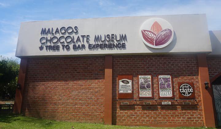 Facade of the Malagos Chocolate Museum in Davao