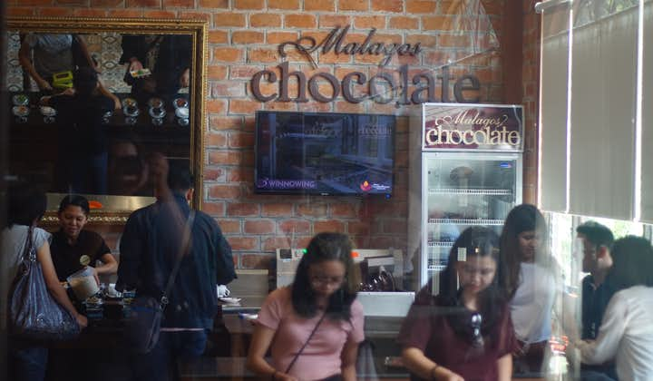 People exploring the Malagos Chocolate Museum