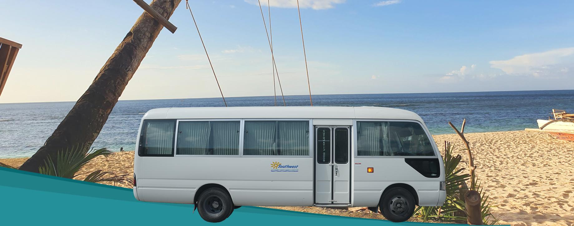 Minibus transfer from Caticlan to Buruanga