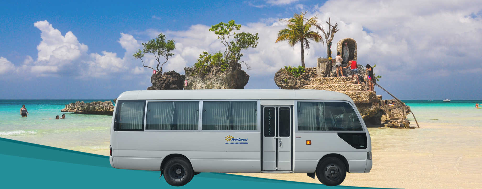 Minibus transfer from Caticlan to Ibajay
