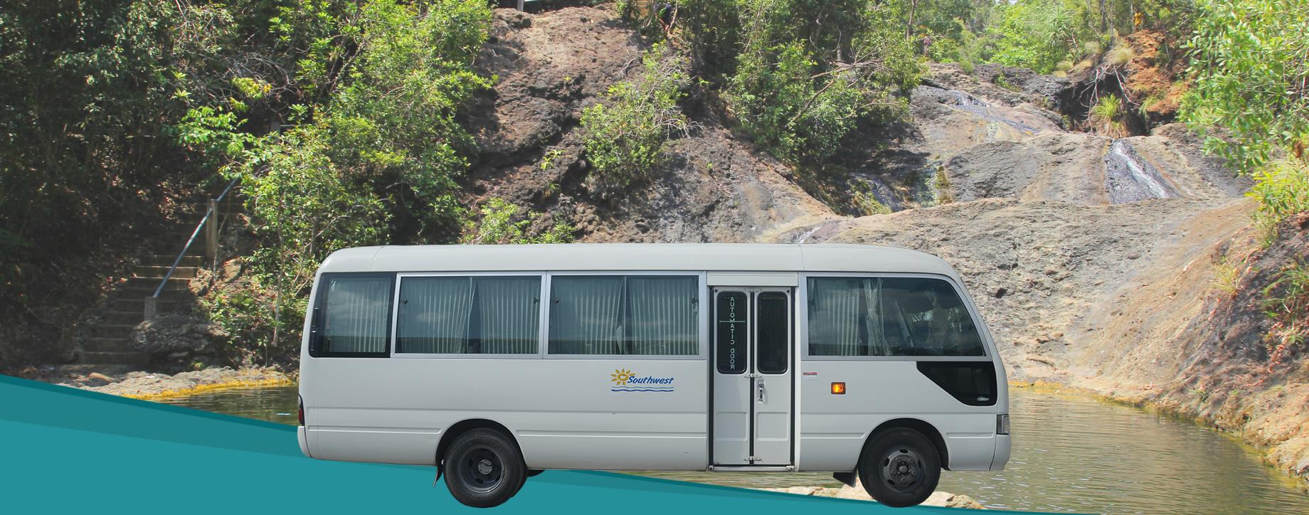 Minibus transfer from Kalibo to Tangalan