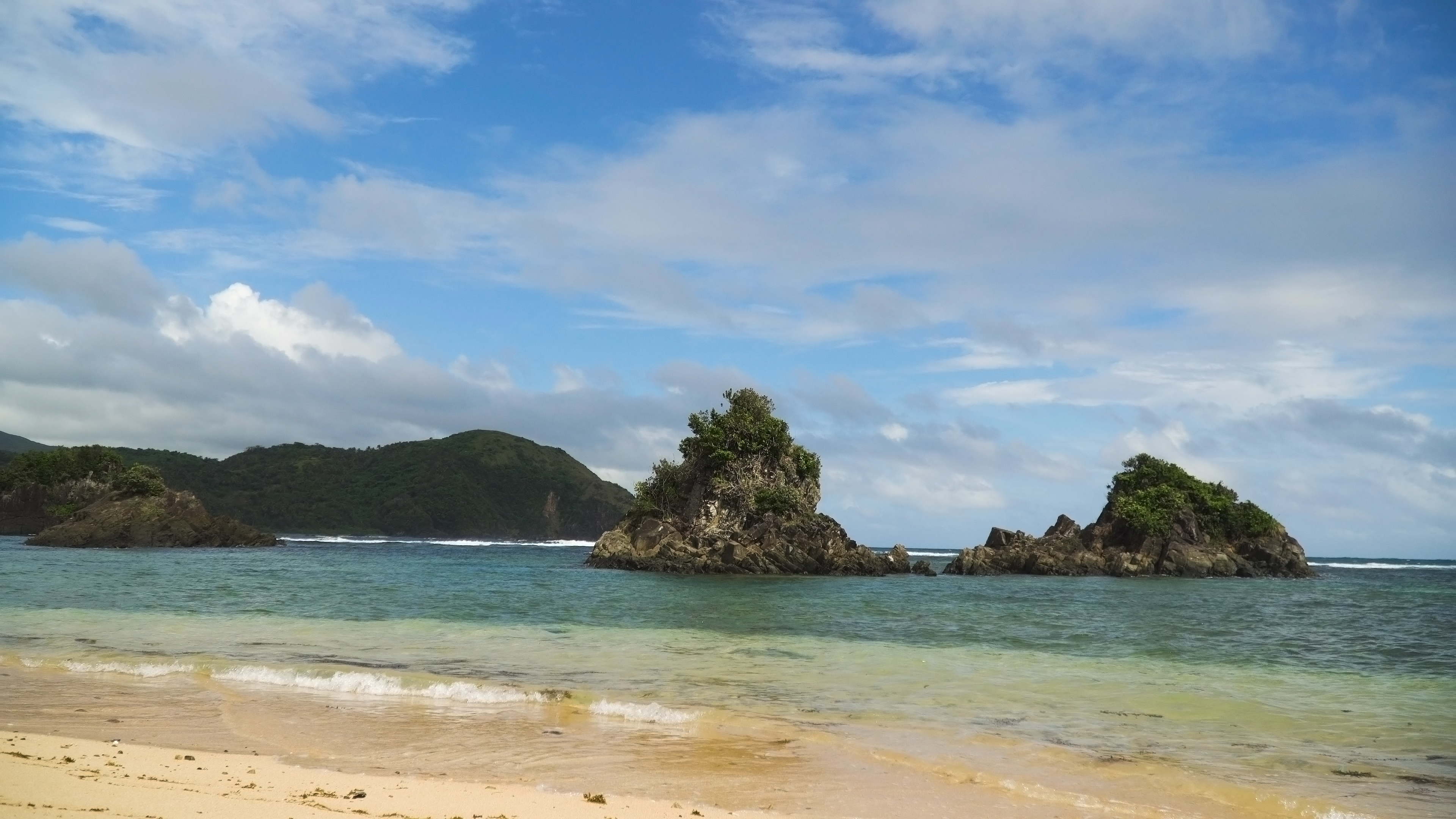 Twin Rocks beach in Virac Catanduanes