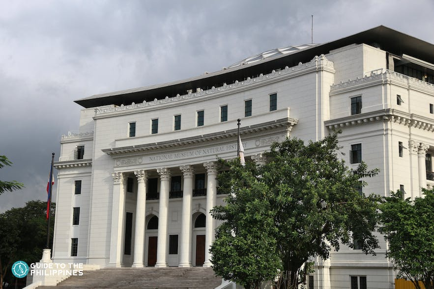 Facade of the National Museum of Natural History in Manila