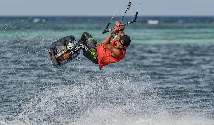 A kitesurfer in Boracay