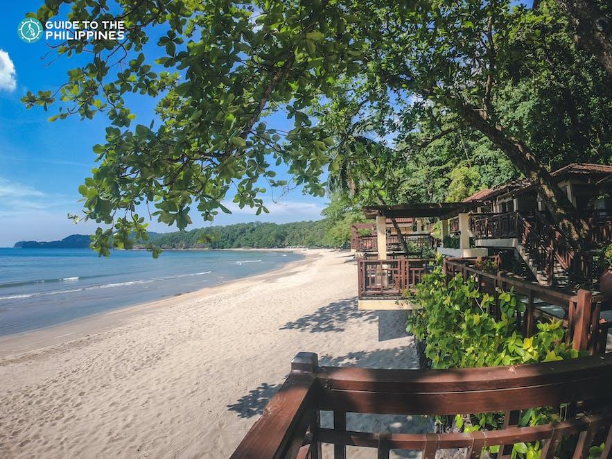 Beautiful beach in Batangas