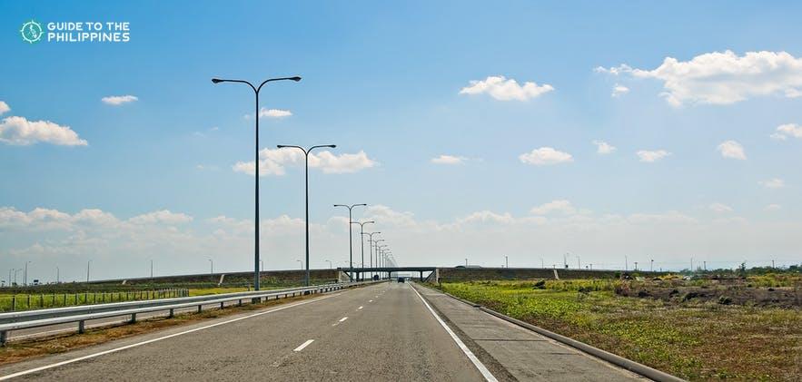 Expressway going to Batangas