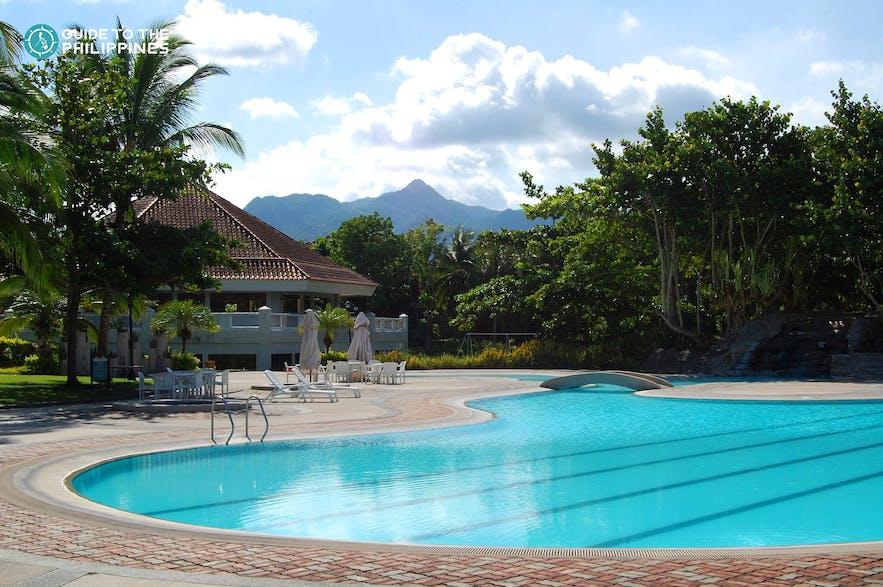 Poolside resort in Batangas