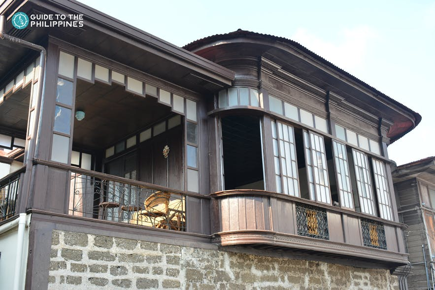 A heritage house in Taal Town