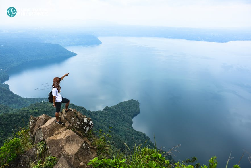 Peak of Mt. Maculot in Batangas