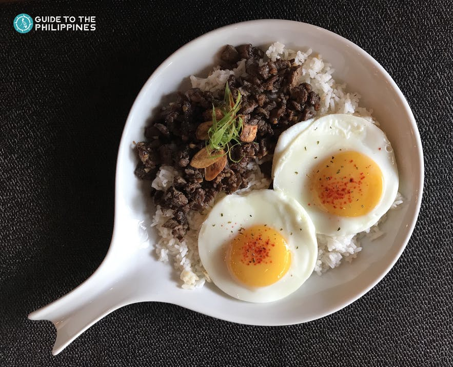 Tapa dish in the Philippines