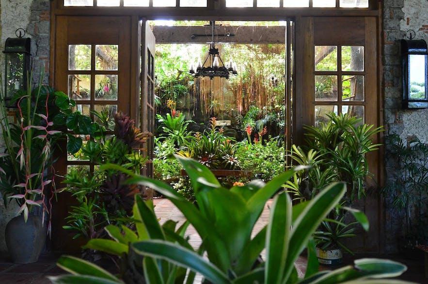 Beautiful garden environment in Kainan sa Dalampasigan