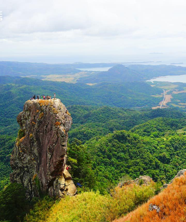 Mountain in Pico de Loro in Batangas