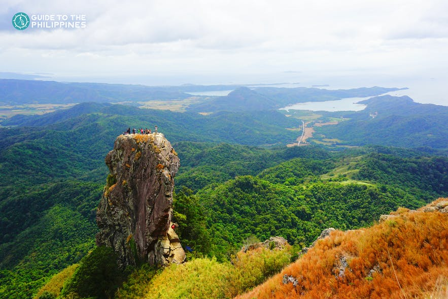 Mountain in Pico de Loro in Batangas