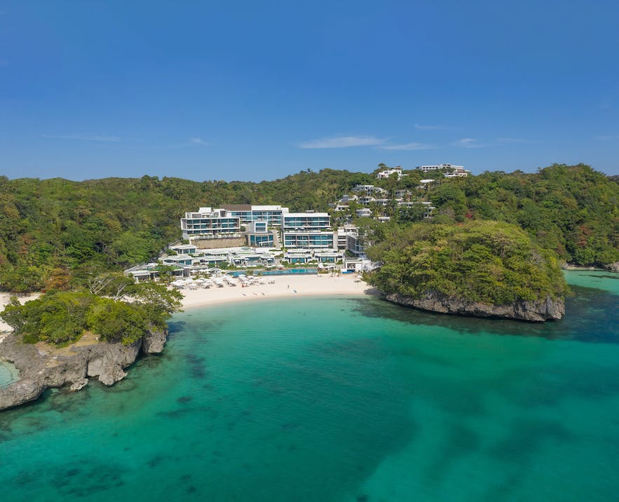 Crimson Resort and Spa is located in an exclusive island in Boracay