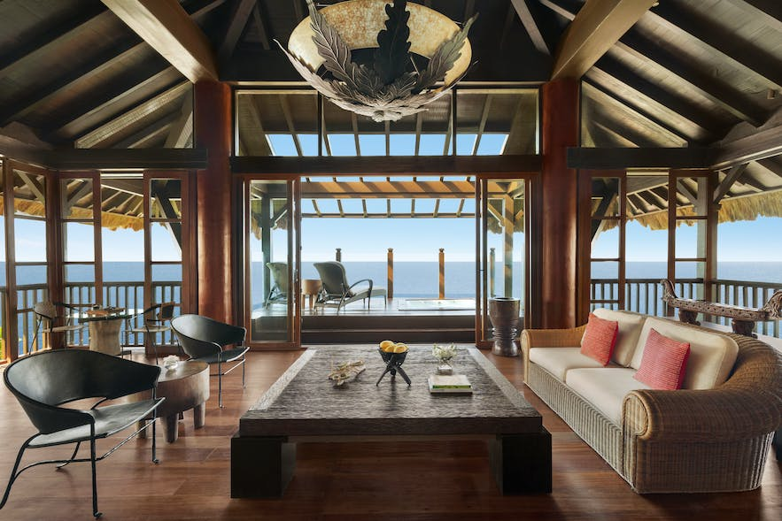Scenic ocean view from a tree house villa in Shangri-La's Boracay Resort and Spa