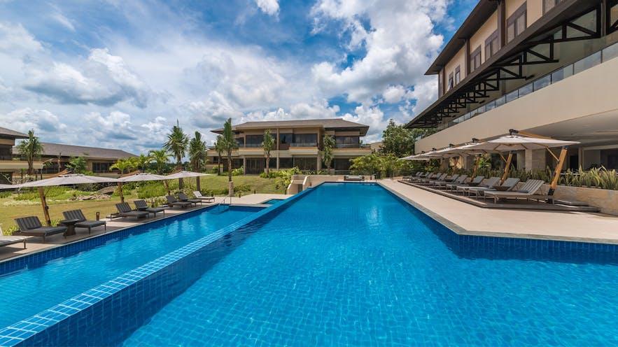 Big pool area of Anya Resort & Residences