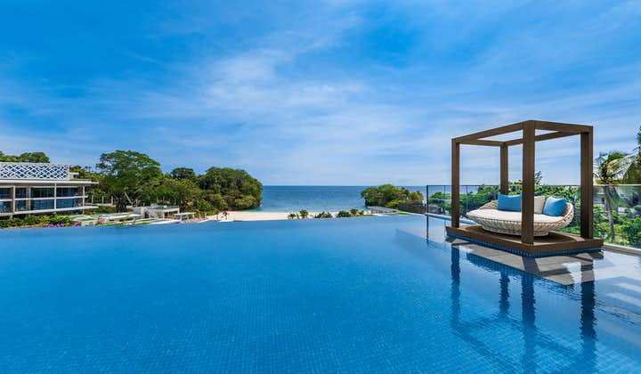 A picturesque pool view of Crimson Resort and Spa Boracay