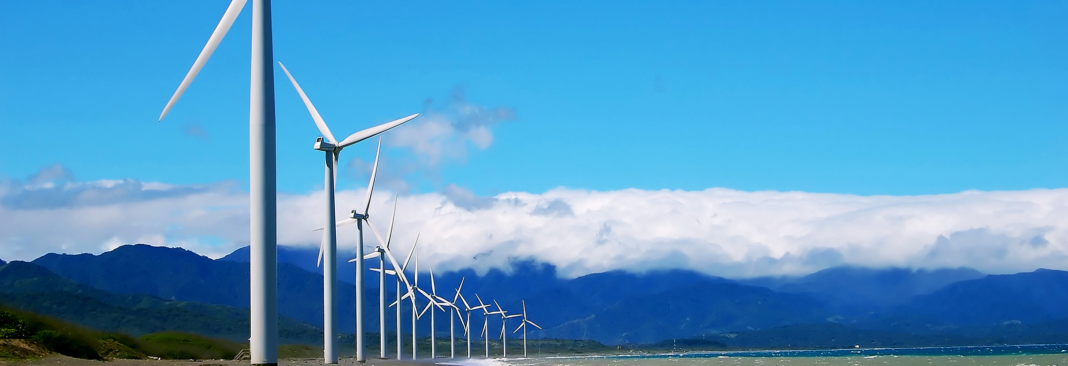 Bangui Wind Farm in Ilocos Norte