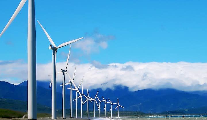 Bangui Wind Farm in Ilocos Norte