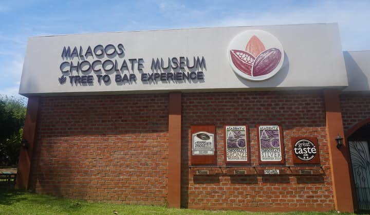 Malagos Chocolate Museum facade in Davao
