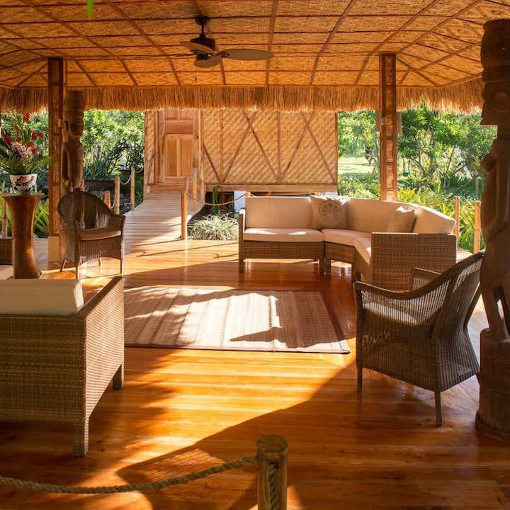 Beautiful interiors of the Spa Village in Donatela Resort