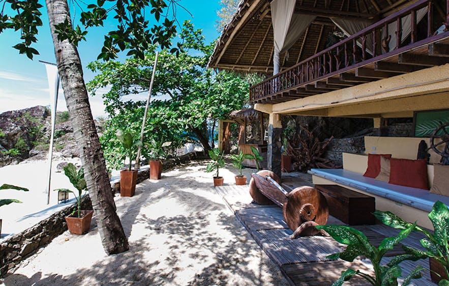 Beachfront accommodation of La Luz Beach Resort