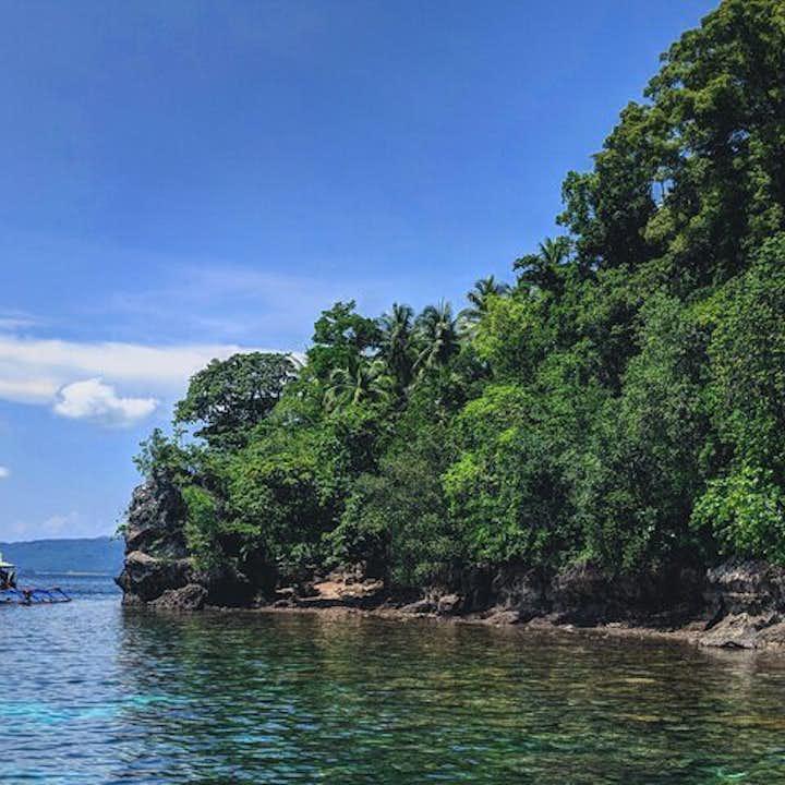 Coral Garden, a popular diving spot in Davao