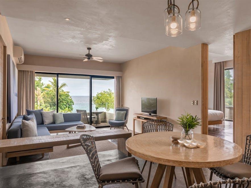 One bedroom sea view suite in Amorita Resort