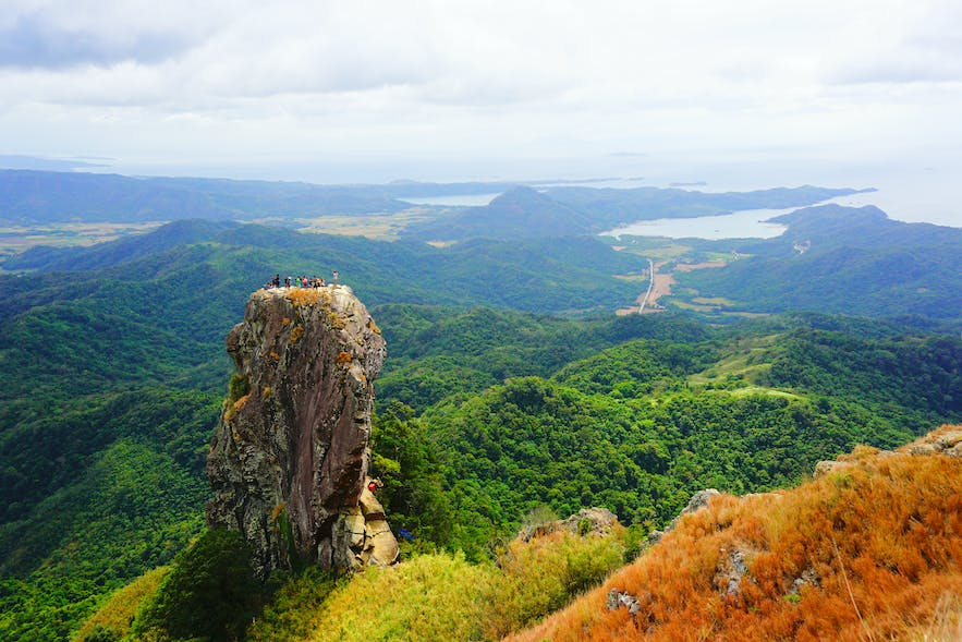 Sweeping view on top of a mountain  in Batangas