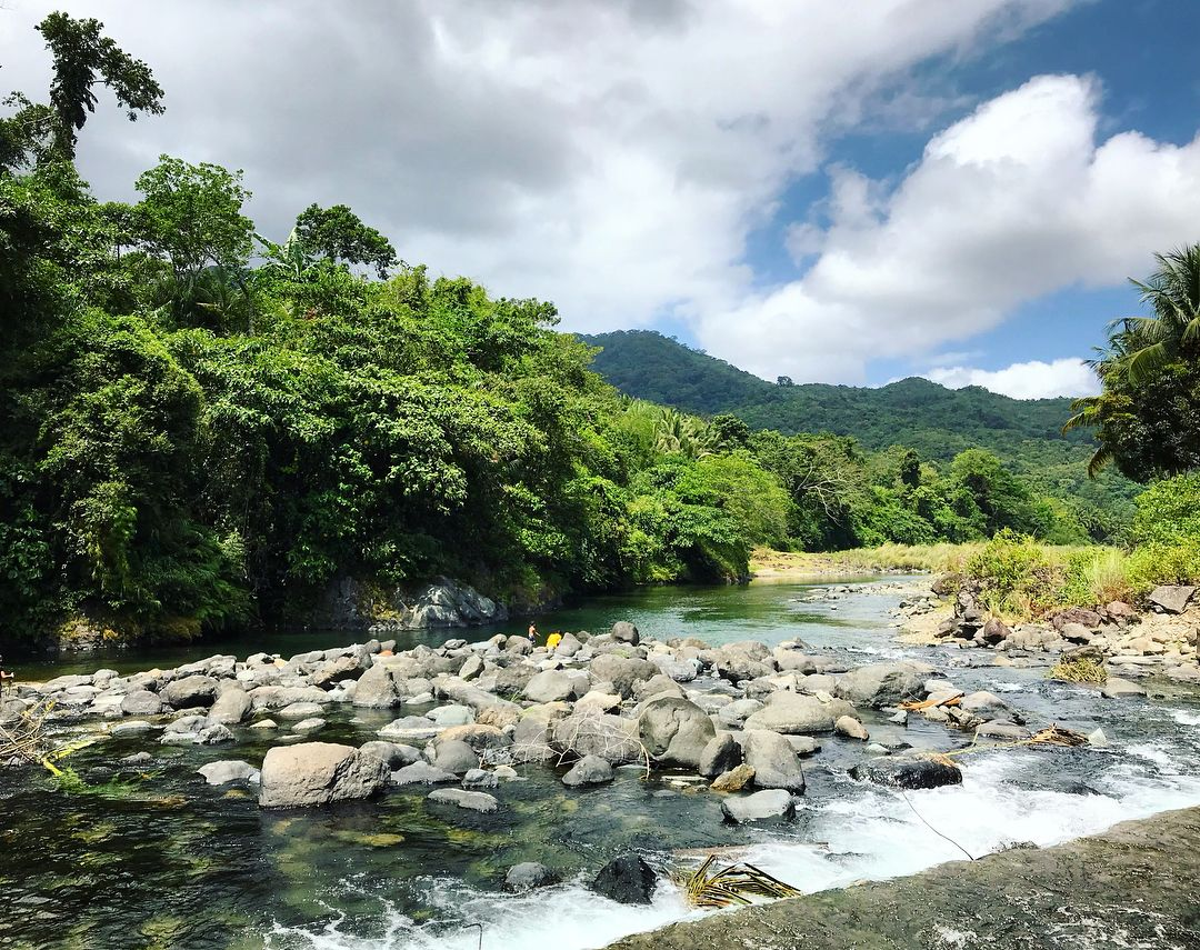 Bulu River in Adams Ilocos Norte