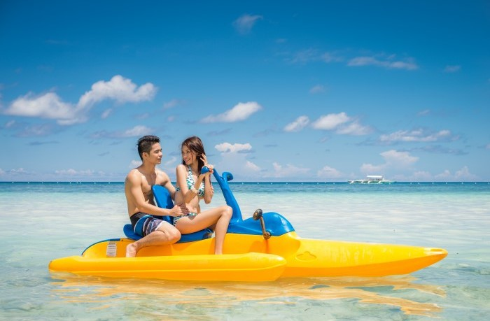 Fun water activities in Panglao Bohol