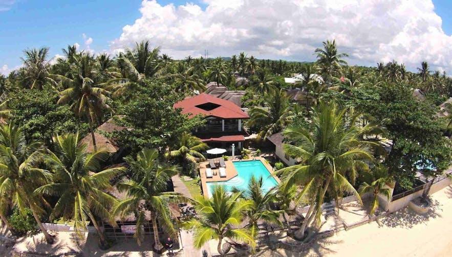 Relaxing environment in Romantic Beach Villas in Siargao