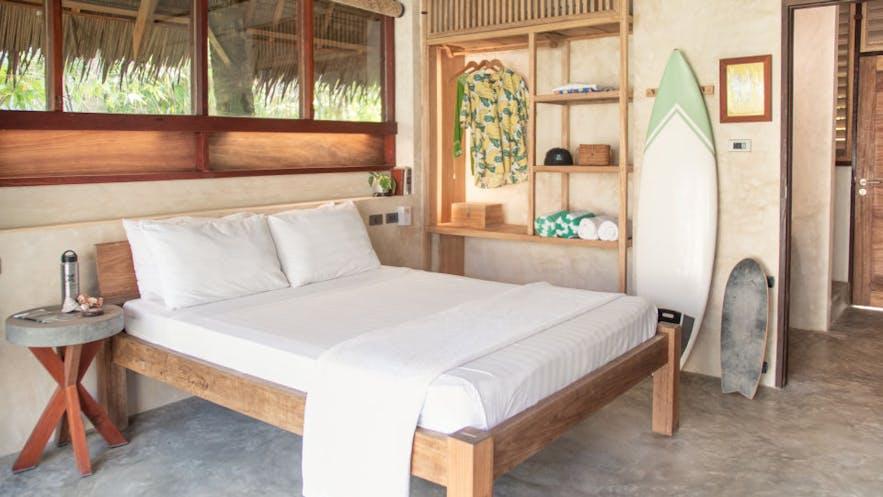 Tropical feels in a room in Bravo Beach Resort