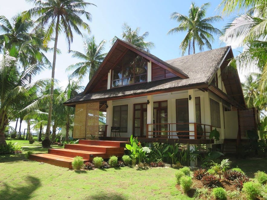 A large villa near the sea in Sandy Feet Siargao