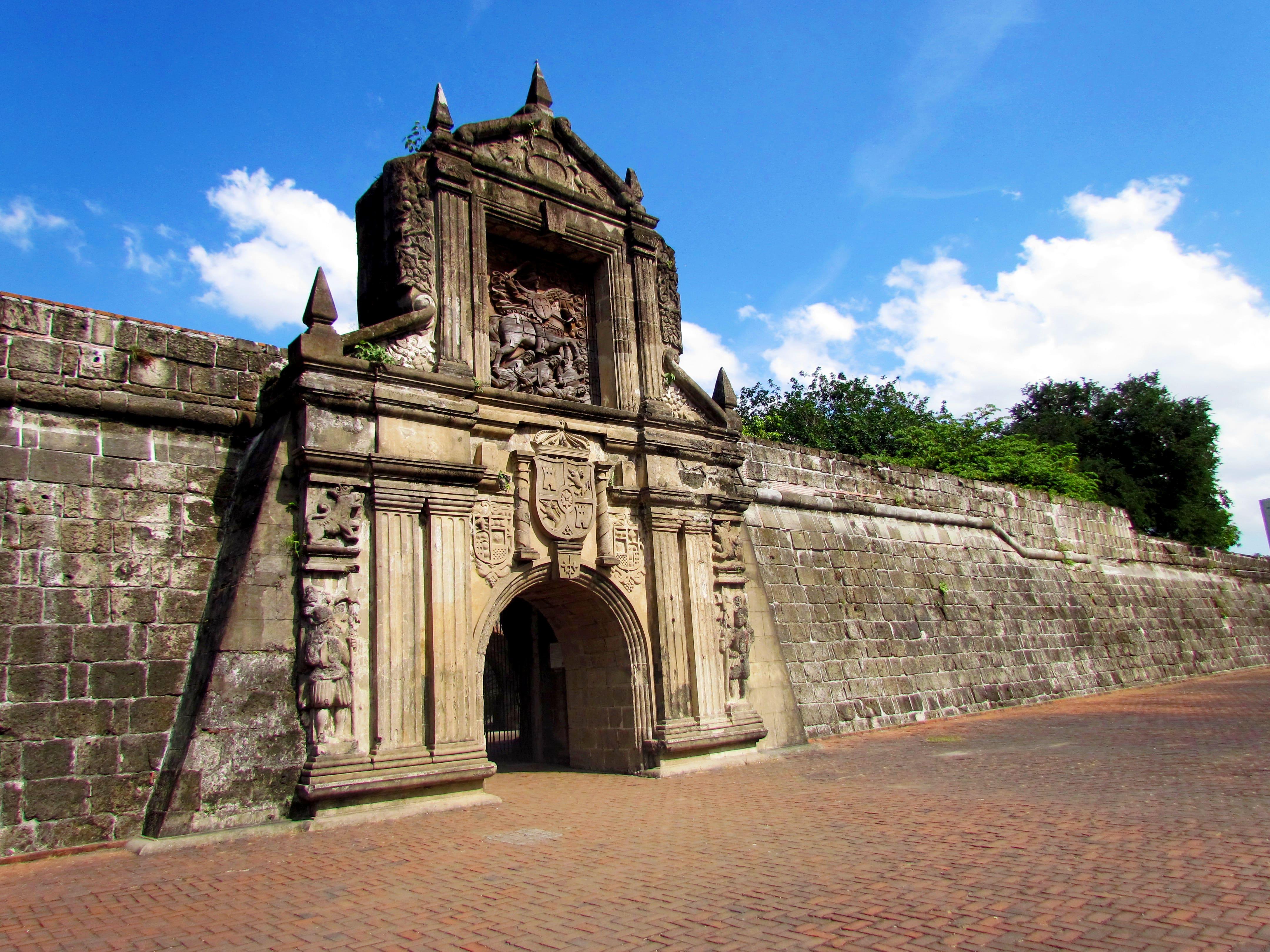 Entrance to Fort Santiago in Intramuros, Manila