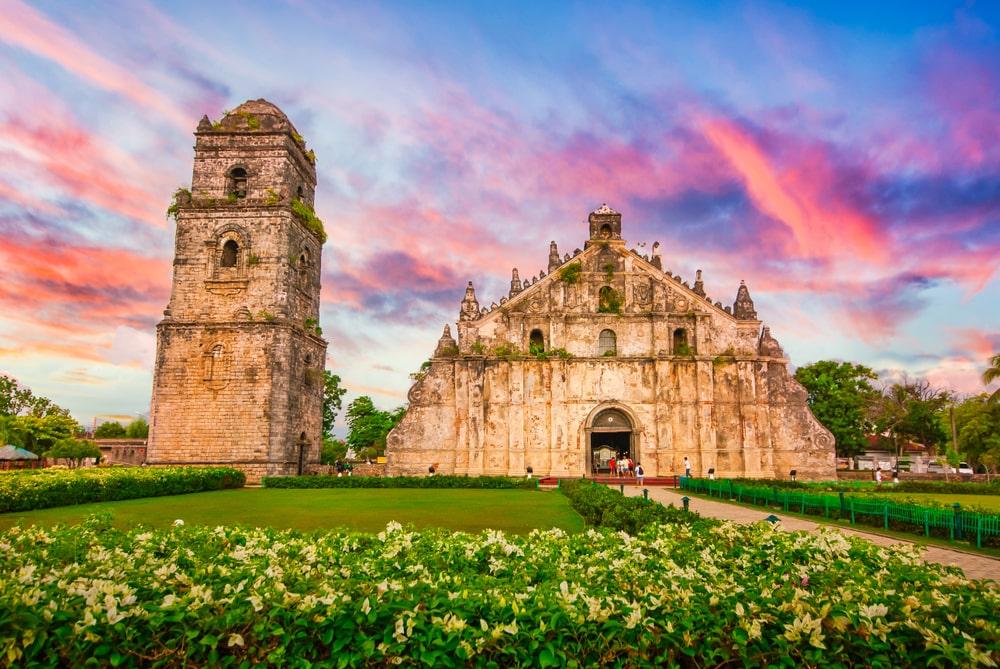 Paoay Church, a UNESCO World Heritage Site in Ilocos Norte