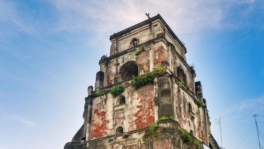 Sinking Bell Tower in Laoag, Ilocos Norte