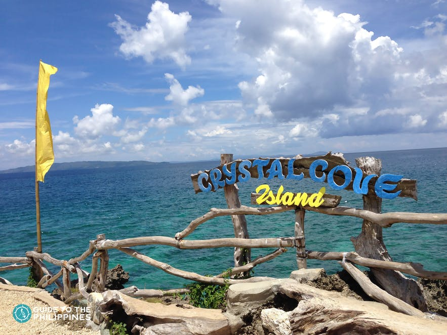 Crystal Cove, one of the island hopping destinations in Boracay