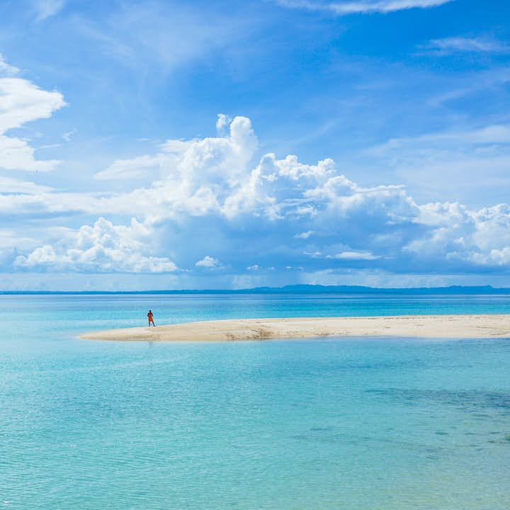 Clear blue waters of Bantayan Island