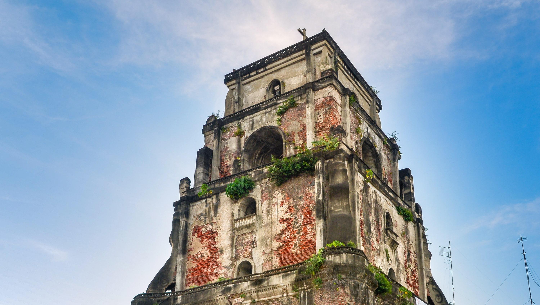 Laoag Sinking Bell Tower in Ilocos Norte