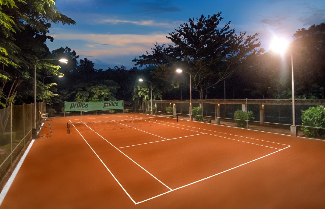 Tennis court in Mithi Resort