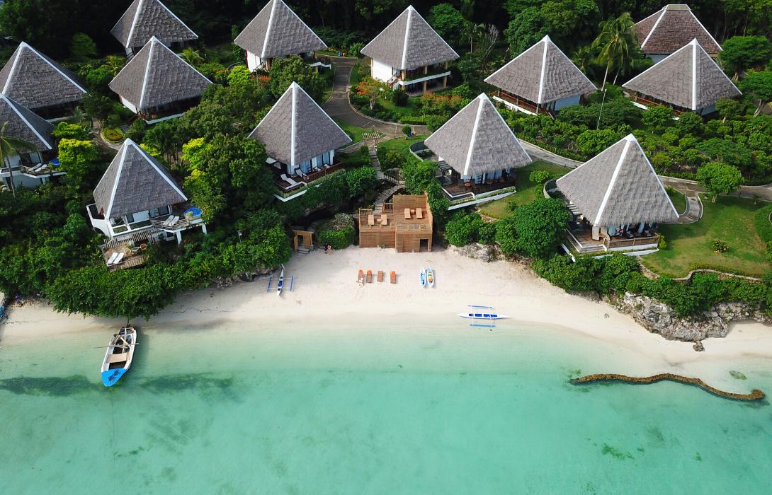 Beachfront area at Mithi Resort