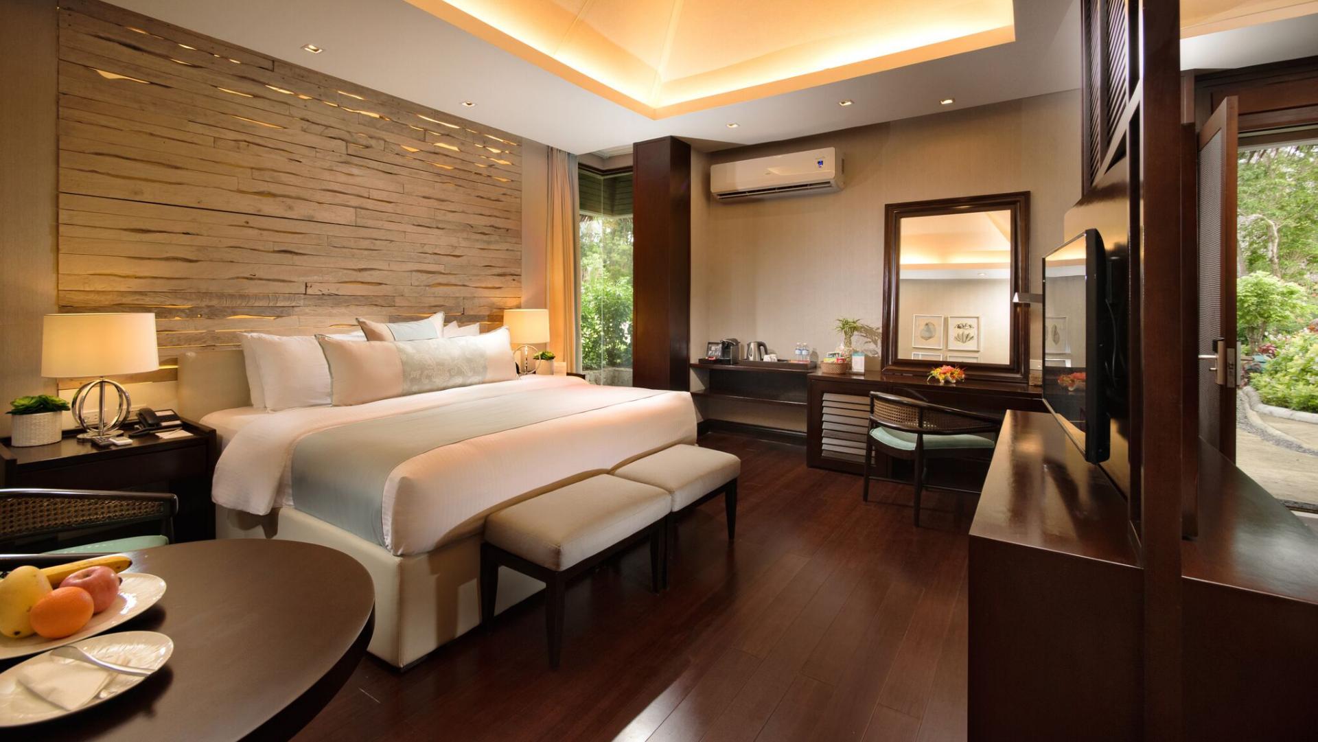 Seaview bedroom in Mithi Resort