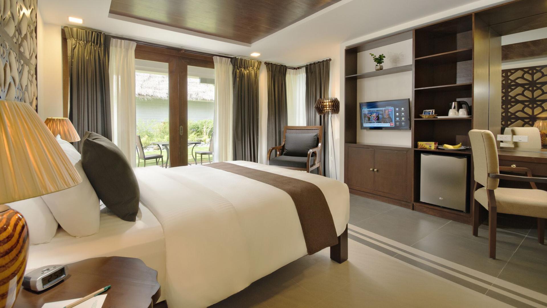 Superior bedroom at Mithi Resort