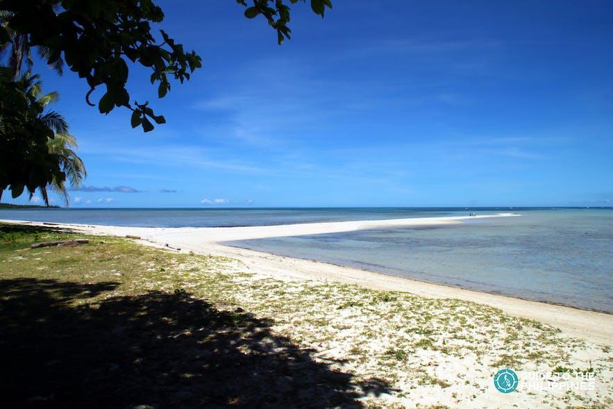 Sandbar in Cagbalete island in Quezon