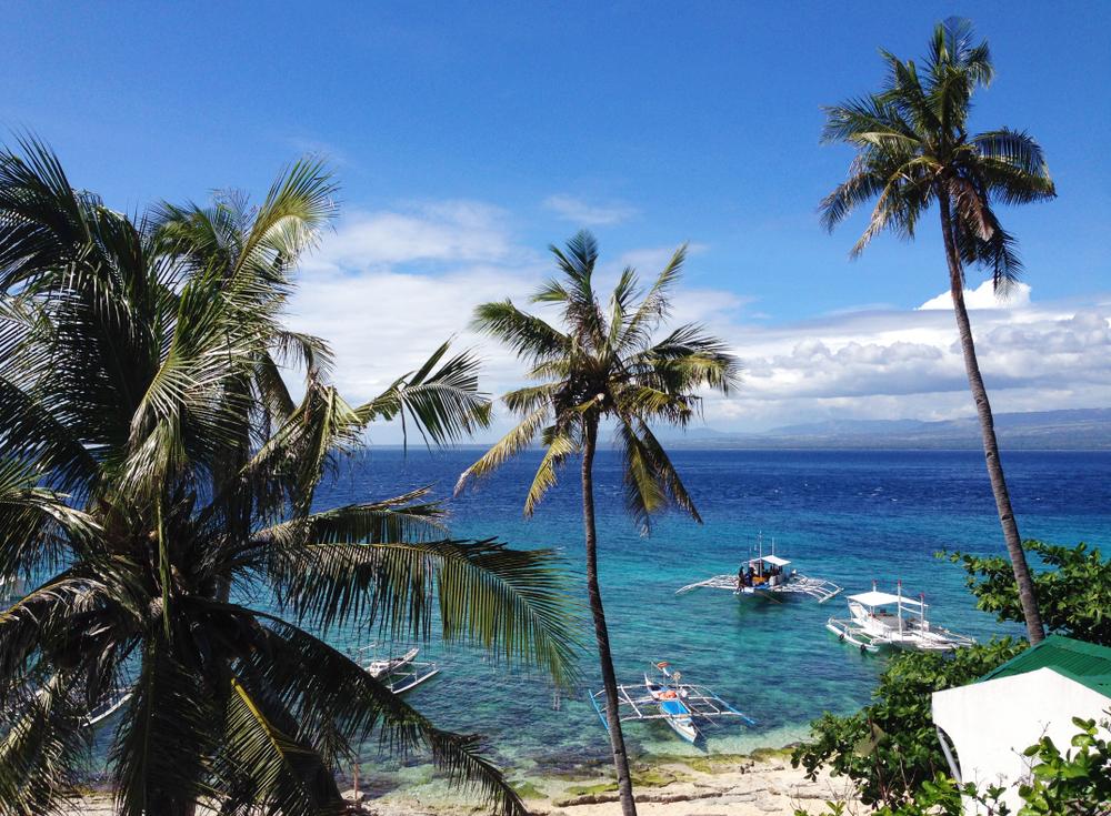 Wonderful ocean view at Apo Island